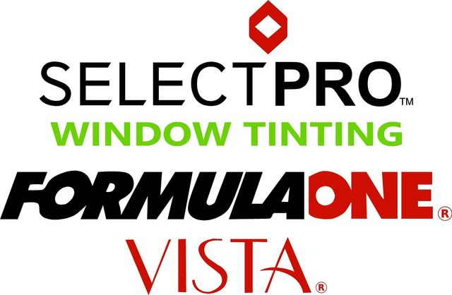 Select Pro Window Tinting Formula One VISTA