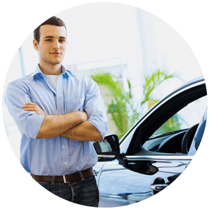 vehicle with insurance agent