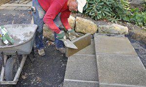 Steps construction