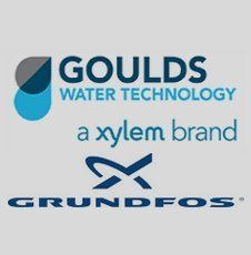 Goulds and Grundfos Logos