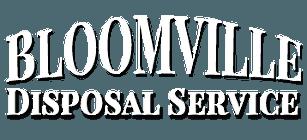 Bloomville Disposal Service-Logo