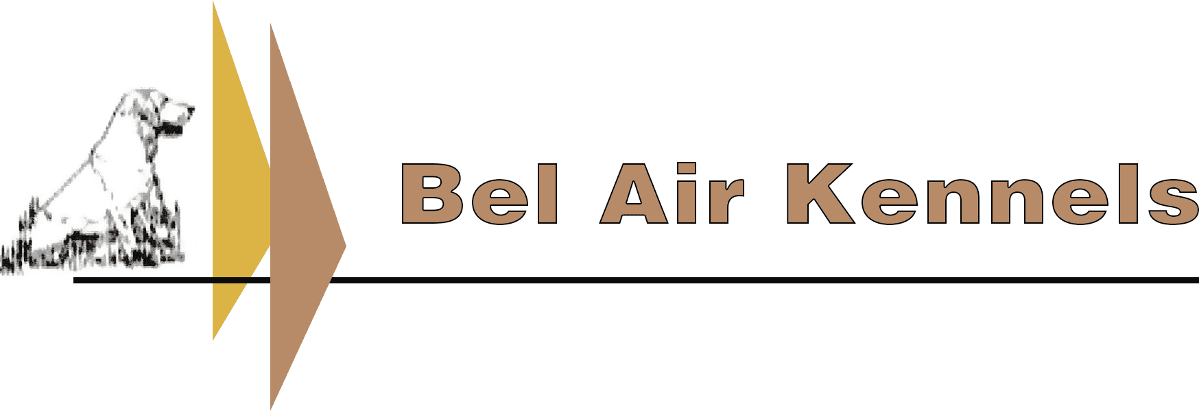 Bel Air Kennels - Logo