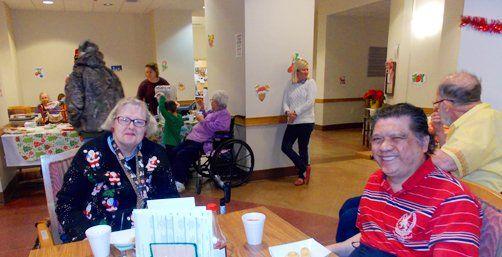 Senior living amenities