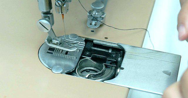 Repairing sewing machine