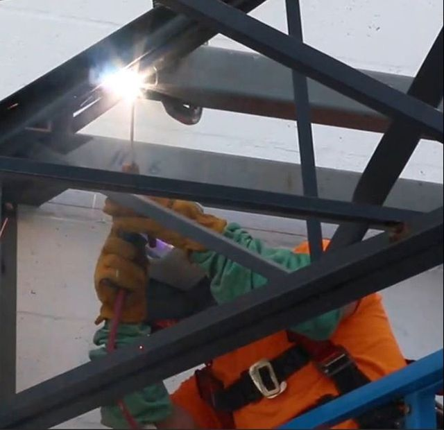 Structural Welding Steel Columns Beams Fort Myers Fl