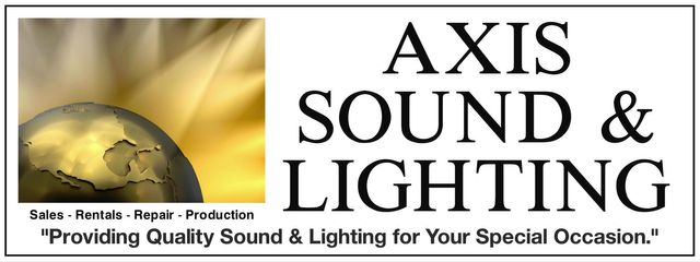 Axis Sound & Lighting - logo