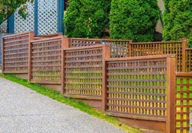 fence. Wood Fence