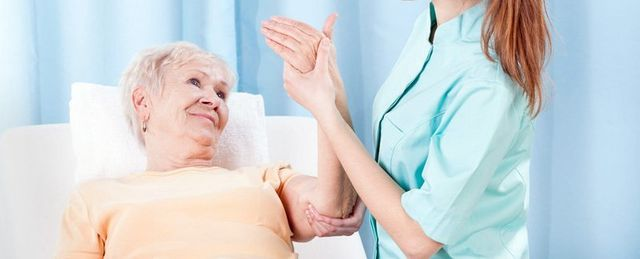 Elderly Woman Therapist