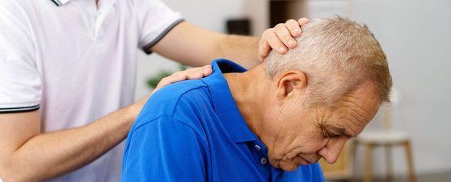 Elderly man Therapist