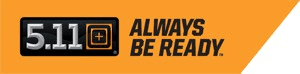 5.11 Always Be Ready Logo