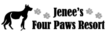 Jenee's Four Paws Resort logo