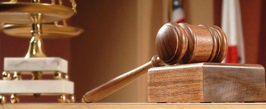 Court room gavel