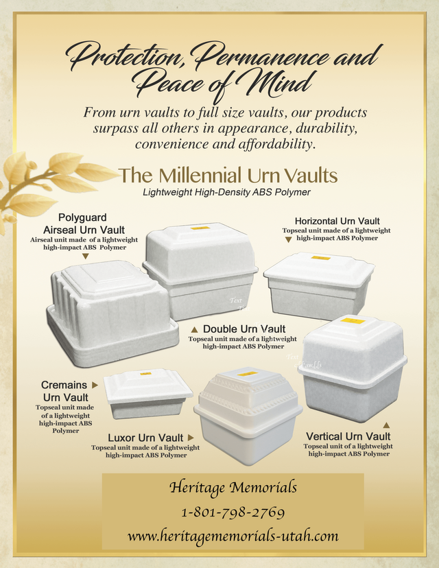 PET CREMATION VAULTS