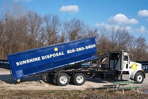 Truck disposal
