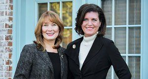 Susan Satterwhite and Margaret Lovell O'Connor