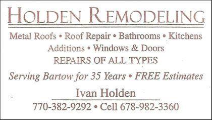Holden Remodeling