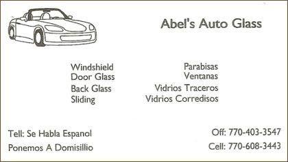 Abel's Auto Glass