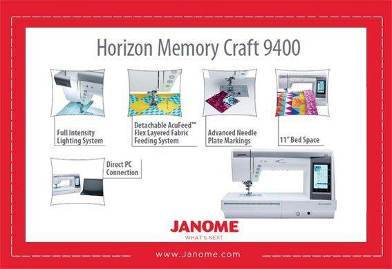 Horizon Memory Craft 9400