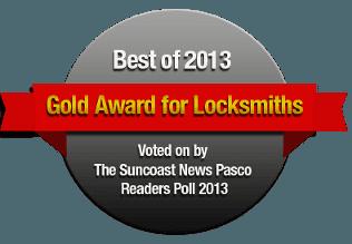 Gold Award for Locksmiths