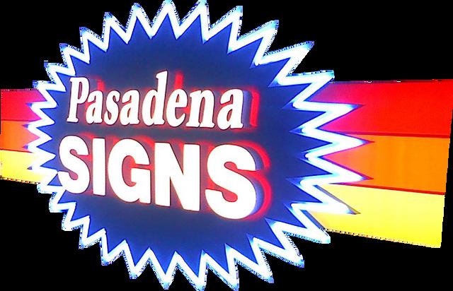 Pasadena Signs - Logo