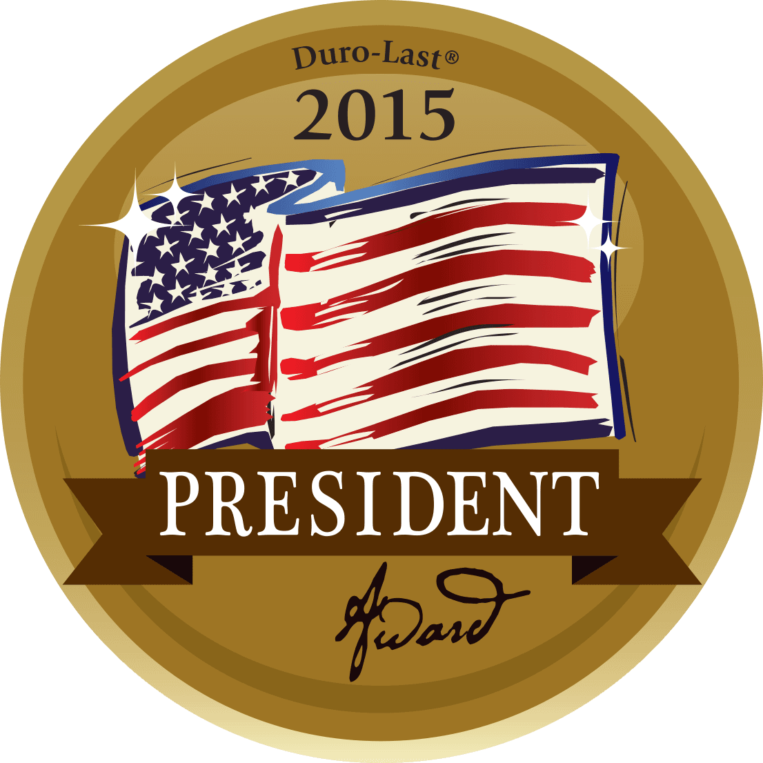 Duro-Last President Award