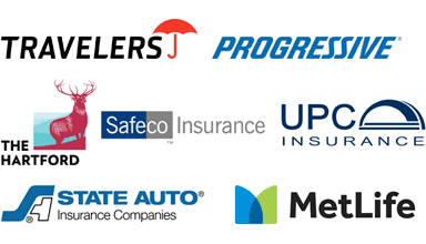 Travelers | Progressive | The Hartford | Safeco Insurance | UPC Insurance | State Auto | MetLife