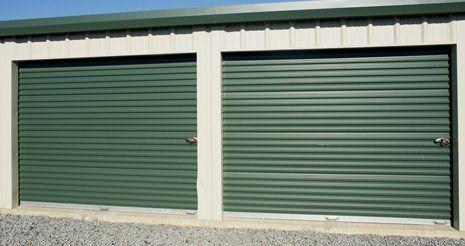 Green self-storage unit & Webb Road Mini Storage | Storage Facility | Salisbury NC