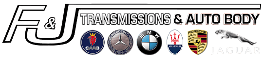 F & J Transmissions & Auto Body - Logo