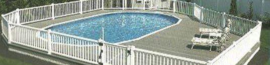 Semi Inground Pool Semi Above Ground Pennsauken Nj
