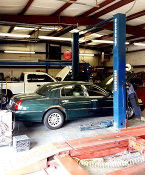 Brock's car repair center