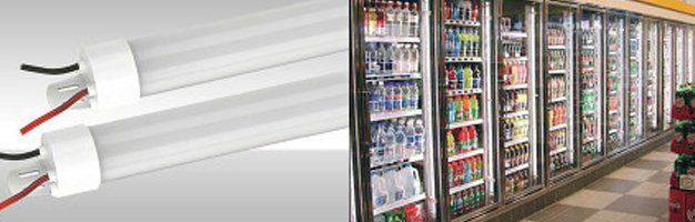 LED Cooler and Freezer Lamps