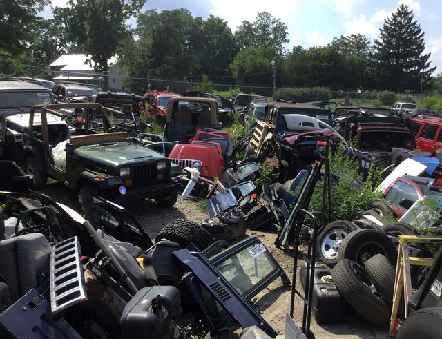 Jeep CJ | Quality Used Jeep Parts | Dover, PA