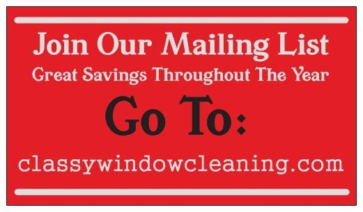 Join Our Mailing List image
