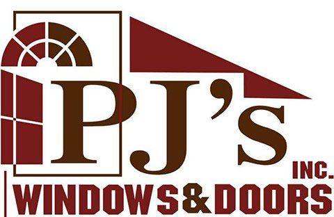 PJ's Windows & Doors, Inc. Logo