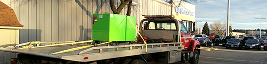 Towing vehicle