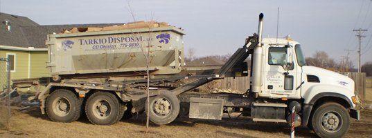 Disposal truck