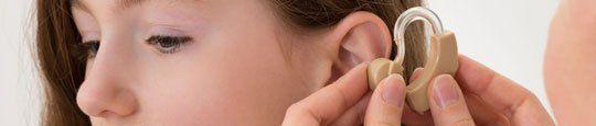 Inserting Hearing Aid