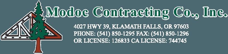 Modoc Contracting Co. Inc. - Logo