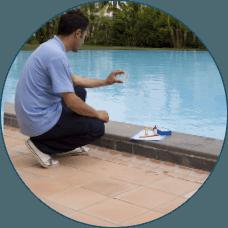 chemical  pool clean