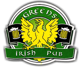Greens Irish Pub Logo
