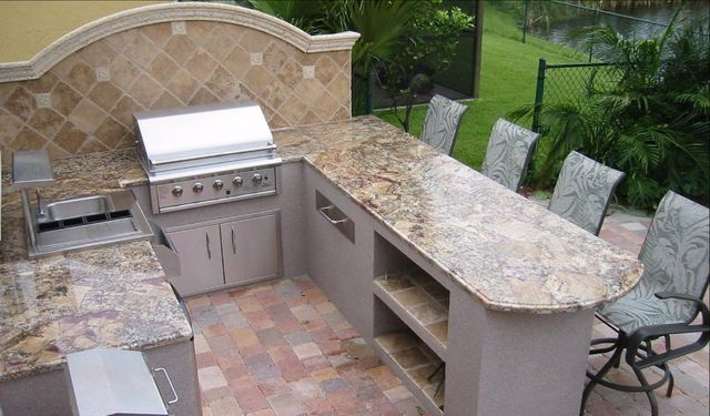 Take Your Outdoor Entertainment Area To A Whole New Level With Help From  Emanuel Granite. Whether You Have An Outdoor Kitchen, Patio, Or Cooking  Space, ...