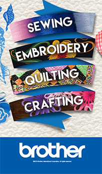 Sewing, embroidery, quilting, crafting brother