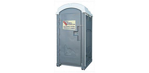 Portable restroom unit