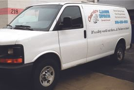 Clearview Cleaning Inc Van