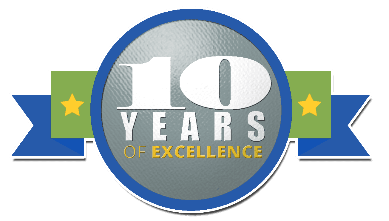10 years of excellence