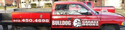Bulldog Garage Doors & Operators Van