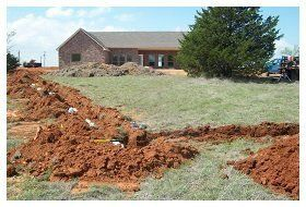 New septic system