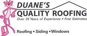 Duane's Quality Roofing - Logo
