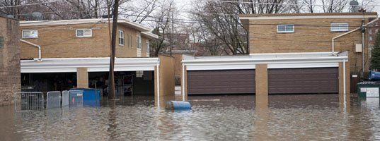 Flooded properties
