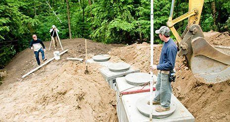 Septic work